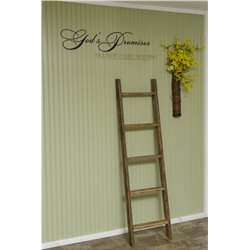 Decorative Ladder in Tobacco Lath Board