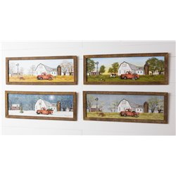 Large Four Season Picture Set