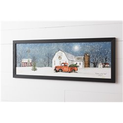 Winter on the Farm Print
