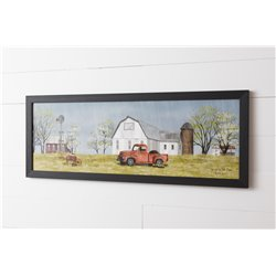 Spring on the Farm Print