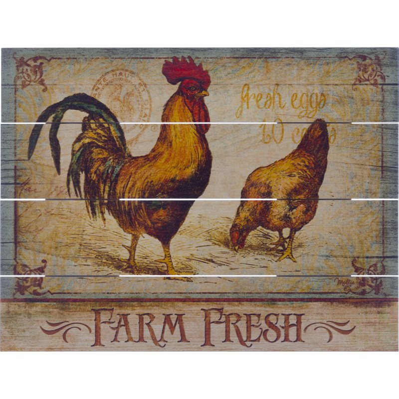Wood Pallet Art - Rise & Shine Rooster