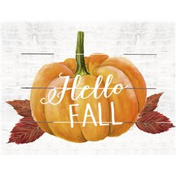 Wood Pallet Art - Hello Fall