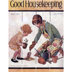 Wood Pallet Art - Good Housekeeping May 1927