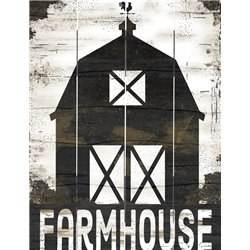Wood Pallet Art - Farmhouse Barn