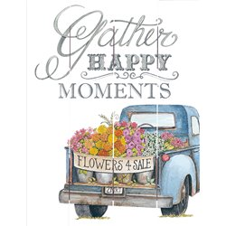 Wood Pallet Art - Gather Happy Moments