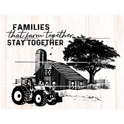 Wood Pallet Art - Families Stay Together