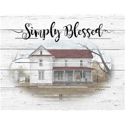 Wood Pallet Art - Simply Blessed