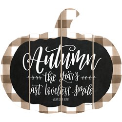 Cut Out Pallet Art - Autumn Pumpkin