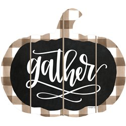 Cut Out Pallet Art - Gather Pumpkin