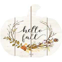 Cut Out Pallet Art - Hello Fall