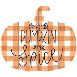 Cut Out Pallet Art - Pumpkin Spice