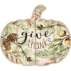 Cut Out Pallet Art - Give Thanks