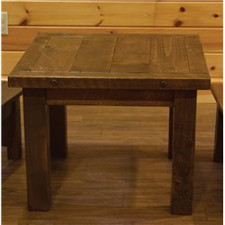 Barnwood Style Timber Peg Children's Table
