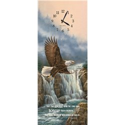 Precious Melodies Clock - Eagle with Wildlife Chimes