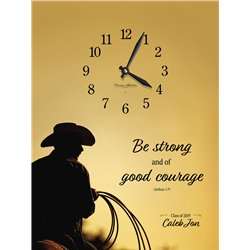 Precious Melodies Clock - Be Strong with Bless the Lord Chimes