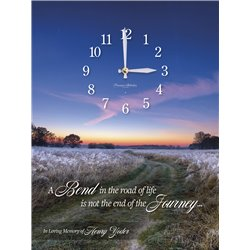 Precious Melodies Clock - A Bend in the Road with Bless the Lord Chimes