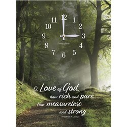 Precious Melodies Clock - Love of God with Bless the Lord Chimes