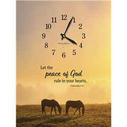 Precious Melodies Clock - Peace of God with Bless the Lord Chimes