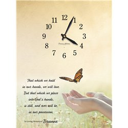 Precious Melodies Clock - That Which We Hold with Bless the Lord Chimes