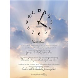 Precious Melodies Clock - Until Then with Bless the Lord Chimes