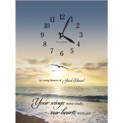 Precious Melodies Clock - Your Wings with Bless the Lord Chimes