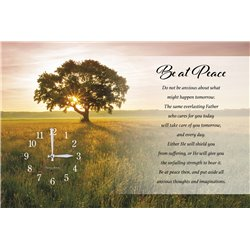 Precious Melodies Clock - Be at Peace with It's a Beautiful Day Chimes