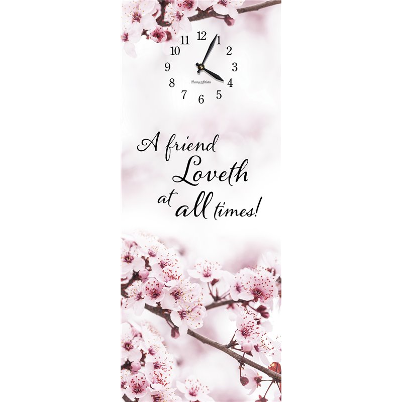 Precious Melodies Clock - Cherry Blossoms with Chimes