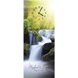 Precious Melodies Clock - Waterfall with Chimes