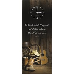 Precious Melodies Clock - Western with Chimes