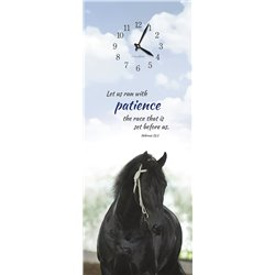 Precious Melodies Clock - Stallion with Chimes