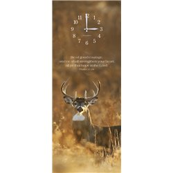 Precious Melodies Clock - Deer with Chimes