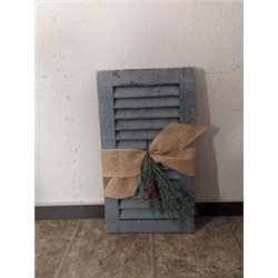 Primitive 2 Foot Seasonal Shutter Decoration