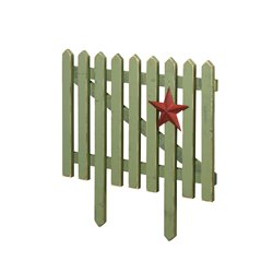 Primitive Picket Fence Decoration