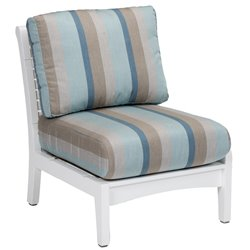 Berlin Gardens Classic Terrace Center Armless Club Chair