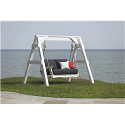 Berlin Gardens Classic Terrace Love Seat Swing
