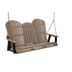 Berlin Gardens Comfo-Back Three Seat Swing w/Console