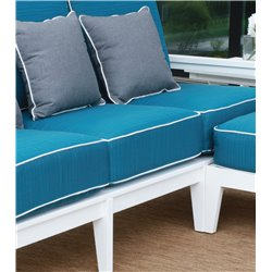 Berlin Gardens Mayhew Sectional Seat Cushion