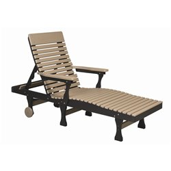 Berlin Gardens Casual-Back Chaise Lounge
