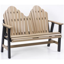 Berlin Gardens Cozi-Back Love Seat