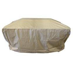 "Berlin Gardens 42"" x 54"" Rectangular Fire Pit Cover"
