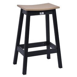 Berlin Gardens Saddle Bar Stool