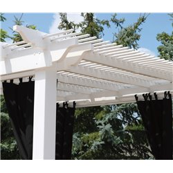 Berlin Gardens Pergola Curtains - Set of 4