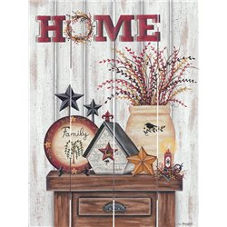 Wood Pallet Art - Home Primitive, Decorations
