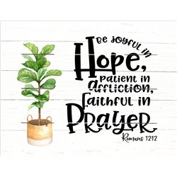 Wood Pallet Art - Hope and Prayer