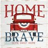 Wood Pallet Art - Home of the Brave Truck