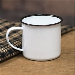 Enamel Coffee Mug - Set of 5