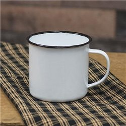 Enamel Soup Mug - Set of 6