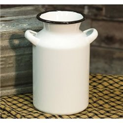 Enamel Milk Can