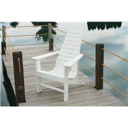 New Hope Style Poly Lumber Adirondack Chair