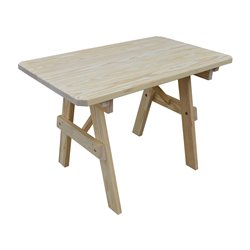 4 Foot Pine Traditional Picnic Table Only